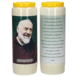 Neuvaine / blanc / St P Pio...