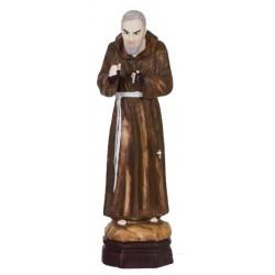 Statue 20 Cm  P Pio  Porcelain