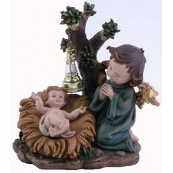 Enfant-Jésus + Ange - 14 X...