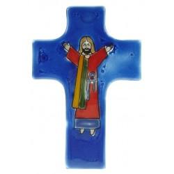 Croix Symbole 08 X 12 Verre...