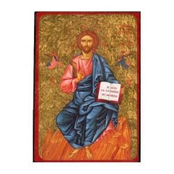 Icone    12 X 18     Christ...