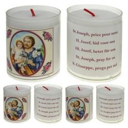 Set of 4 candles  St Joseph...