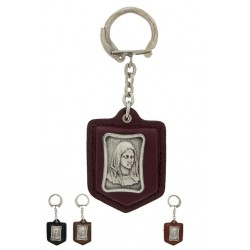 key ring Leather  Tete De...