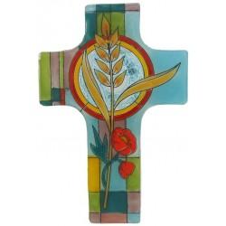 Cross Glass Wall Bread Of...