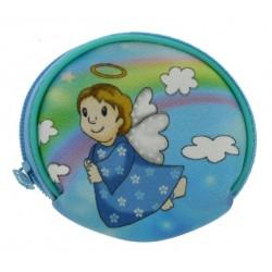 Etui Chapelet - Ange Bleu