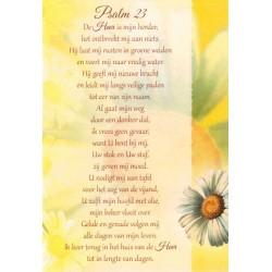 Carte Double + Env - Psalm 23