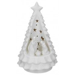 Nativity porcelain with...