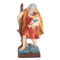 Statue 23 cm St Christophe