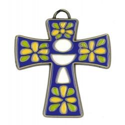 Bronze Cross Blue 8x7...