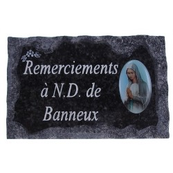 Plaque Cimetiere...