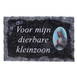 Plate of cemeteries Voor...