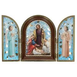 Triptych 12 X H8 cm  Nativity
