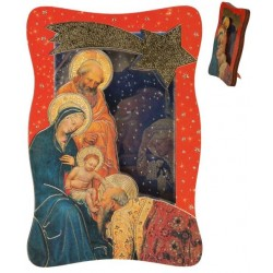 frame  Relief nativity 5.6...
