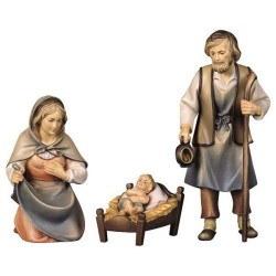 Pastoral crib figures...