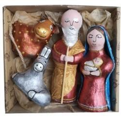 Christmas crib characters...