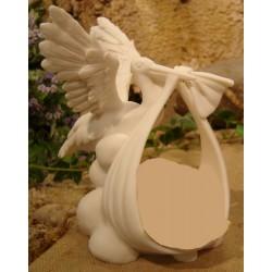 Cigogne 15 Cm Blanc